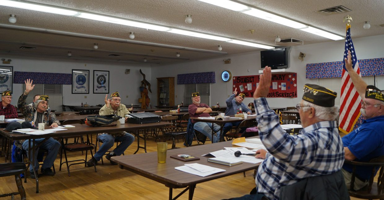Veterans of Foreign Wars Post 4265 held elections Monday nights. Johnny Garcia was elected commander.