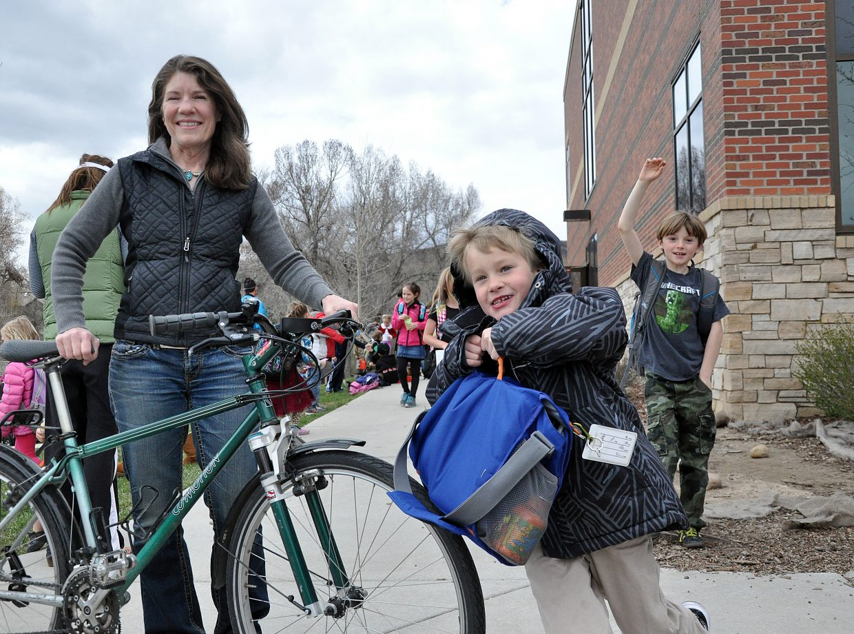 Cycling advocate Paige Boucher will help look for her replacement as leader of this city's Safe Routes to School Program. Boucher led the program for the last nine years.