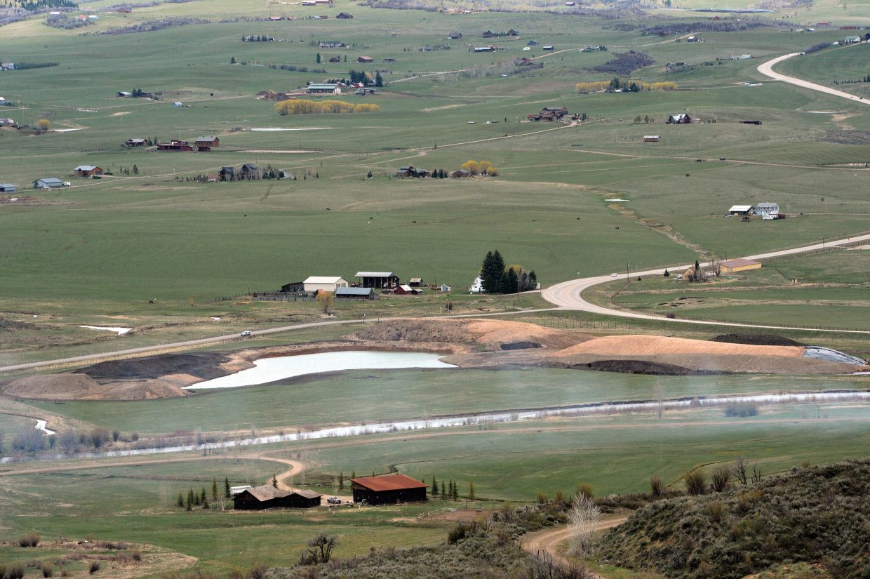 Developers of a new private nine-hole golf course will be seeking a permit from Routt County Planning. The planned course, which is located at the corner of Colorado Highway 131 and Routt County Road 18, is being built on the Windwalker Ranch.
