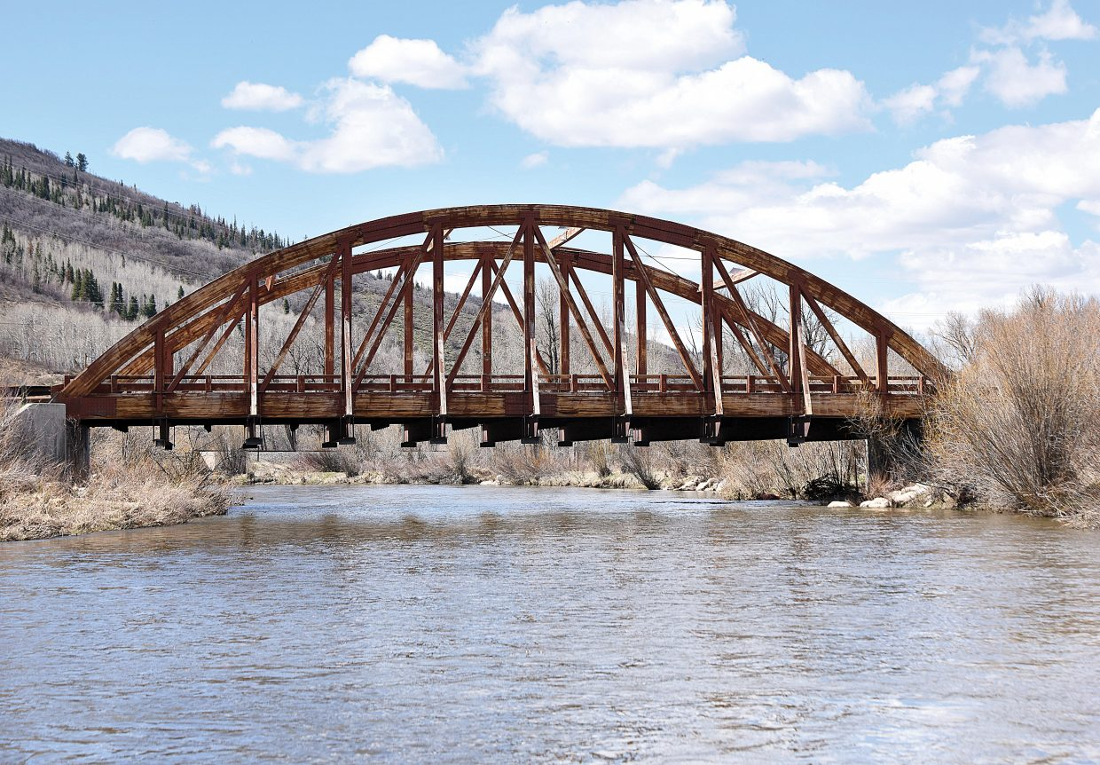 The Routt County Board of Commissioners is expected to approve the bid from Western Wood Protection to apply a wood protection and restoration coating to the wooden trusses of the Tree Haus Bridge.