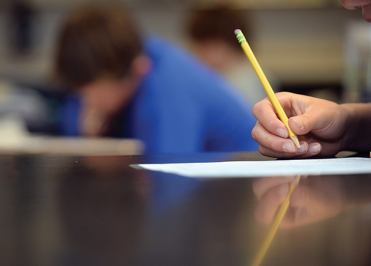 Students in local school districts will soon transition to electronic testing rather than paper as part of the adoption process of the Common Core standards.