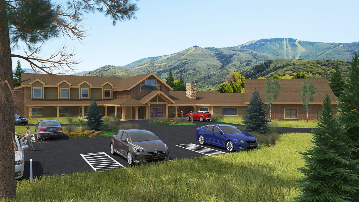 This rendering by Mountain Architecture Design Group shows the planned new headquarters for Steamboat Adaptive Recreational Sports — STARS.