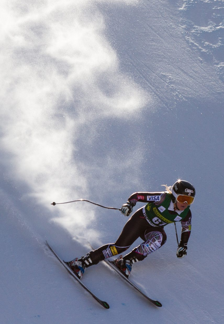 Anna Marno trains in Beaver Creek in November for a World Cup race. Marno was recently named to the U.S. Ski Team's B team.