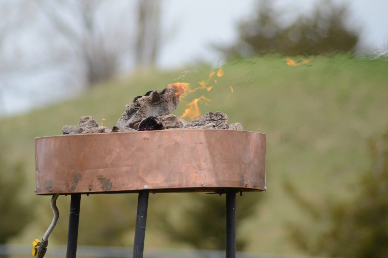 The Special Olympics flame burned throughout the games in Craig Saturday.