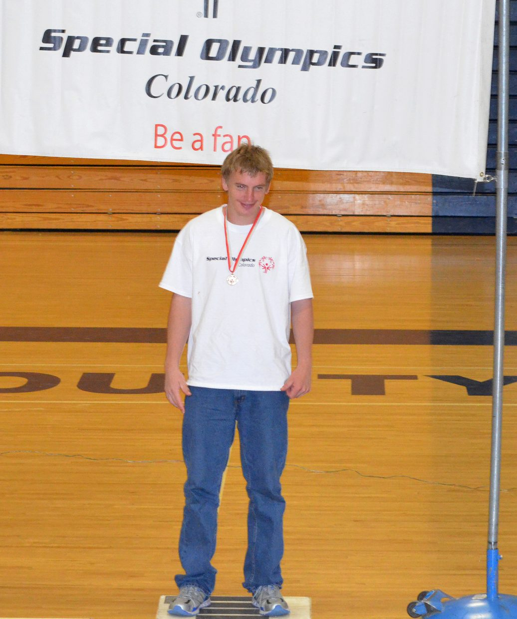 Joshua Frederickson was a multiple-gold medal winner from the Craig swimming team this year.