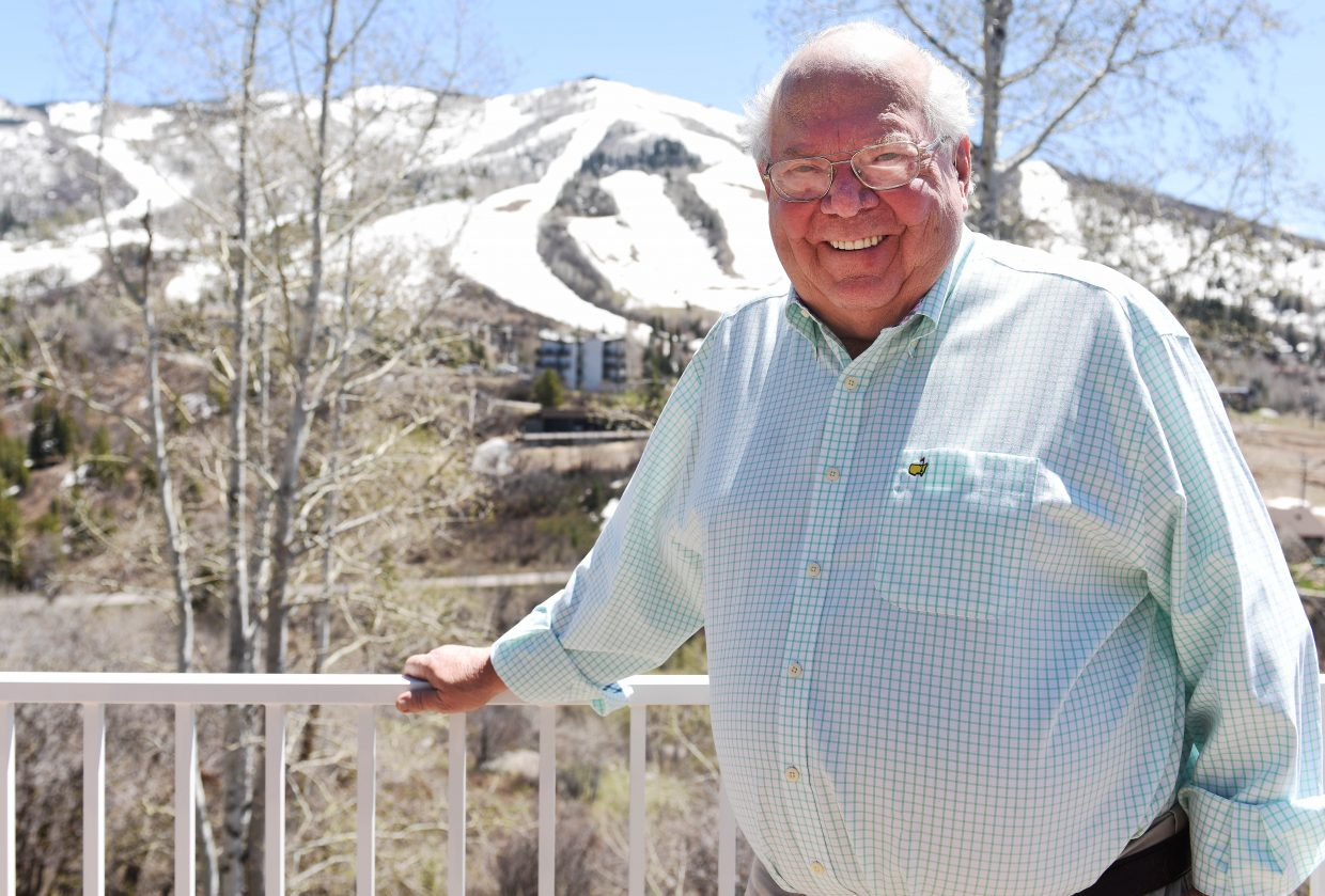 Steamboat Springs broadcaster Verne Lundquist received a lifetime achievement Sports Emmy on Tuesday night in New York City. Lundquist has lived in Steamboat Springs for more than 30 years.