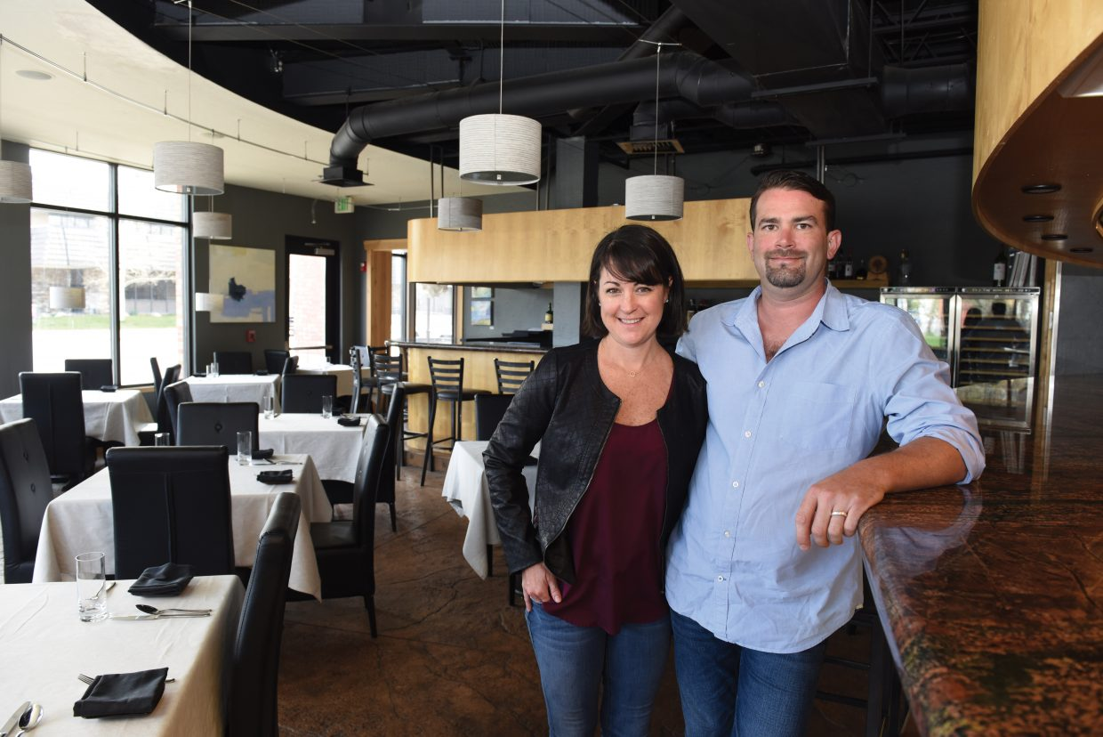 "Brian Vaughn, and his wife, Katy, owners of bistro c.v. and Low has been invited to cook at the famous James Beard House in New York this weekend. Chefs are invited based on their national or regional reputation to cook a five course meal at the James Beard House also known as ""the Oscars of the food world."" The local chef will be taking his crew to New York for the event on Saturday, May 14 in New York City."