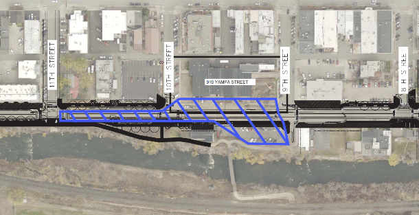 Beginning May 23, Yampa Street will be closed to vehicle traffic between Ninth and Eleventh streets.
