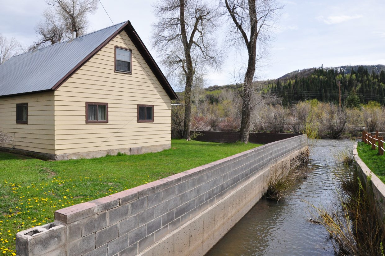 The Workman Property at 603 Yampa St. is going to be converted into a public park.