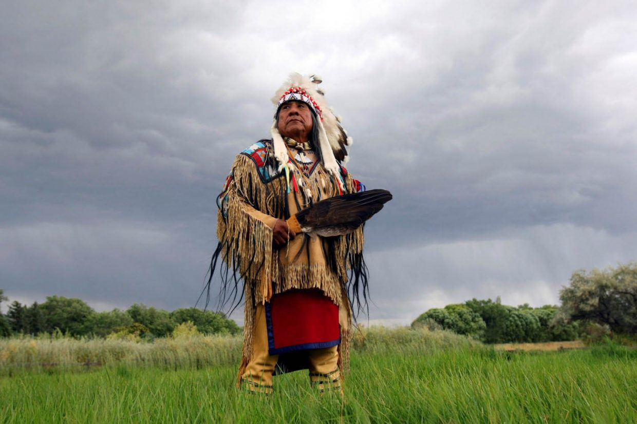 Roland McCook Sr., great-great grandson of Chipeta, the wife of Ute Chief Ouray, is slated to speak at noon and 6 p.m. May 23 at Bud Werner Memorial Library.