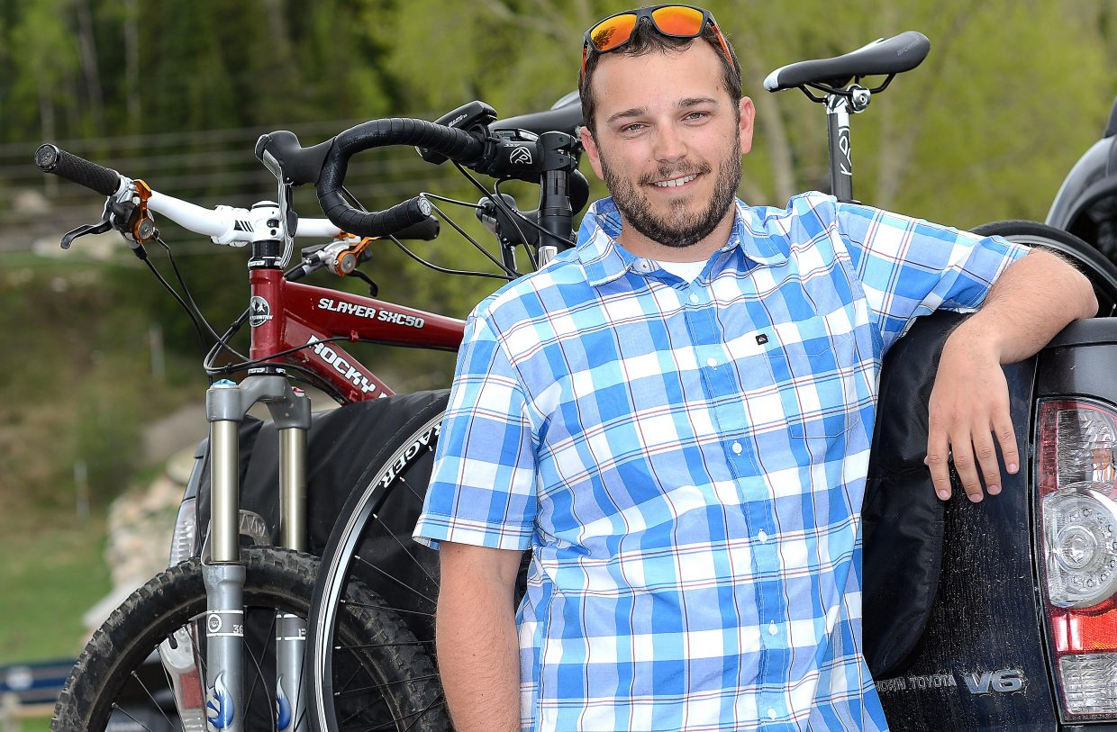 Tyler Goodman is the new Bike Town USA executive director. He spent five years working in finance at several Steamboat stops, but he said he was drawn to the new job by the prospect of getting out from behind the desk.