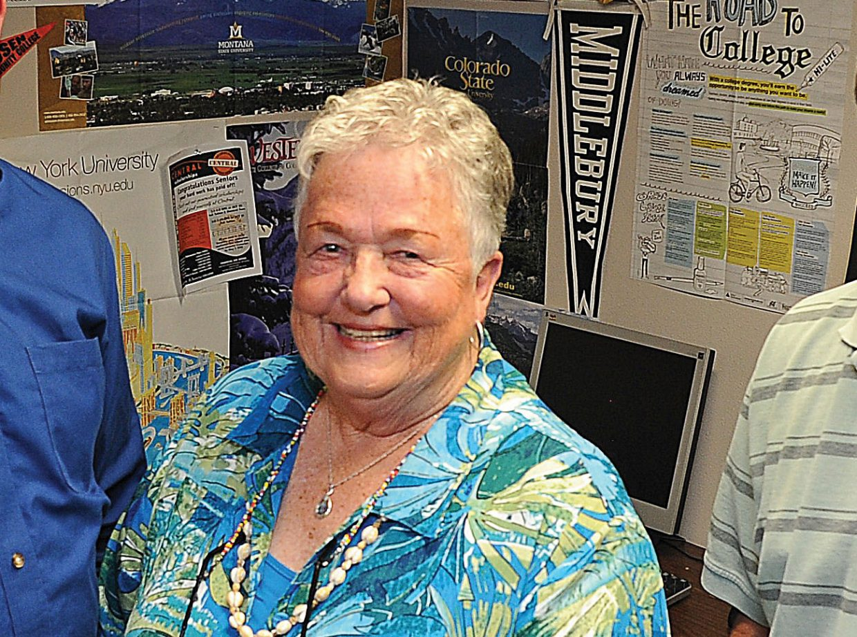 Steamboat Springs High School teacher Sandy Conlon retires this year after 56 years in the classroom, 46 of them with the Steamboat Springs School District.