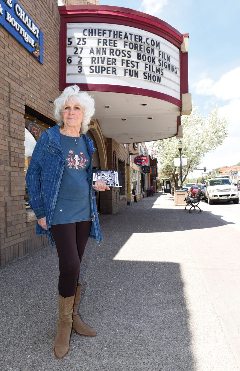 "Local author Ann Ross will host a book signing from 5:30 to 8 p.m. Friday for her first book, ""Double Vision,"" at the Chief Theatre in downtown Steamboat Springs."