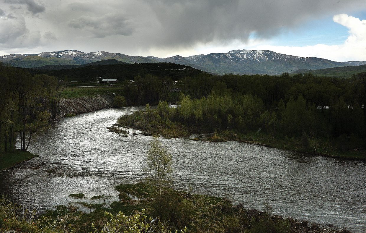 Spring rain, and melting snow has the Yampa River running full through Steamboat Springs on Wednesday. However, despite the large amount of water currently flowing down the river many people are concerned about the future of the river and where the water might end up. In July, the Yampa/White Green Roundtable will meet to discuss the state's new water plan and it's possible impacts.