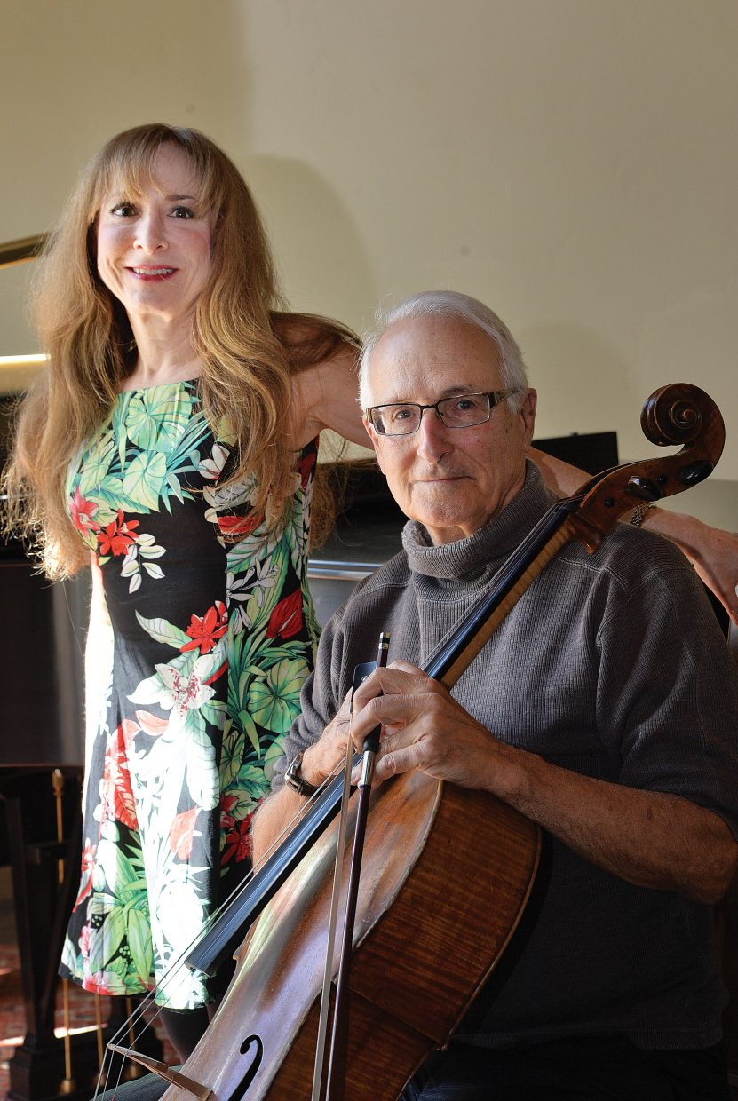 """John Sant' Ambrogio and Judith Lynn Stillman will be featured in this weekend's Friends and Family Concert Series event """"Bach to Rach"""", which will take the stage at 7 p.m. This Friday and Saturday at the Chief Theatre. The door and bar will open at 6:30 p.m."""