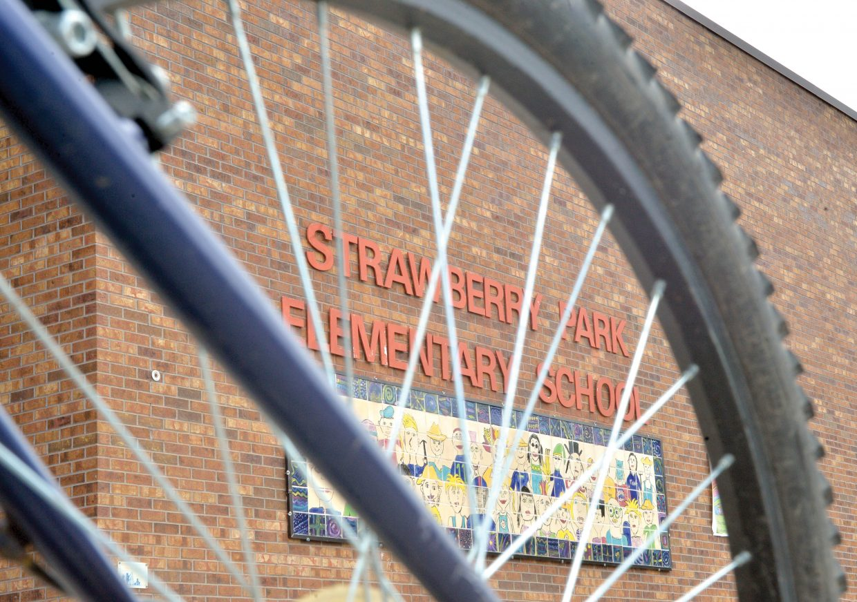 Strawberry Park Elementary School's annual Bike Rally has become a spring tradition that organizers, teachers and parents hope will raise awarness and improve safety.