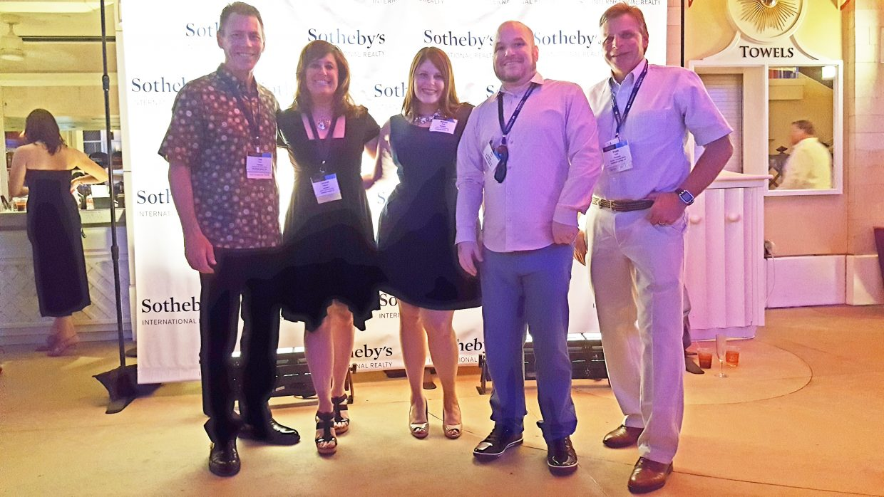 Members of the Steamboat Sotheby's International Realty team attended a conference in Las Vegas in May.