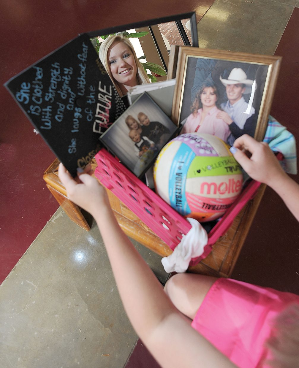 Emilee Tritz's motivation to go to college is simple: her family hasn't, so why not be the first?