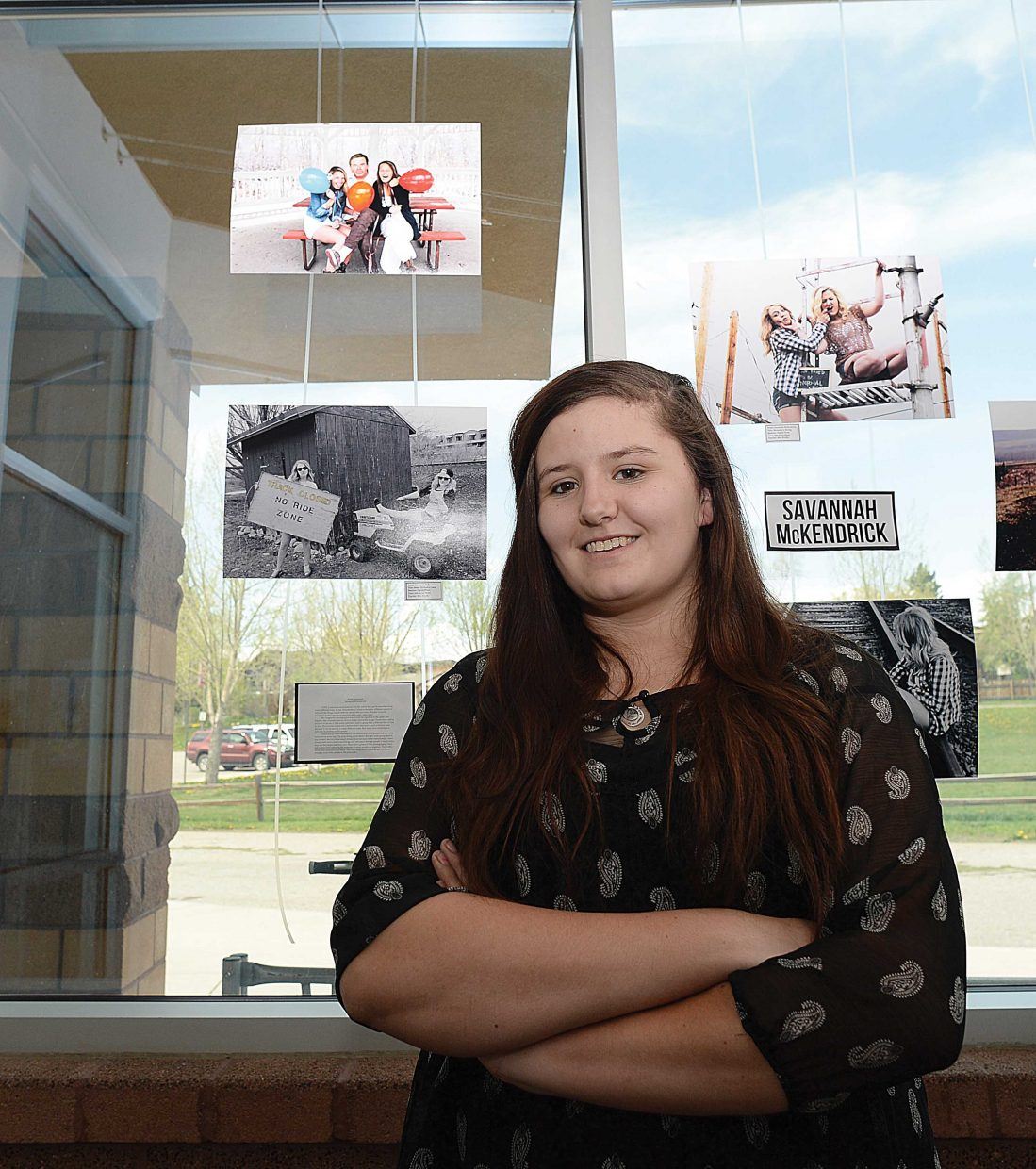 Savannah McKendrick will be the first in her family to go to college, where she'll study under Colorado Mountain College's photography program in Glenwood Springs.
