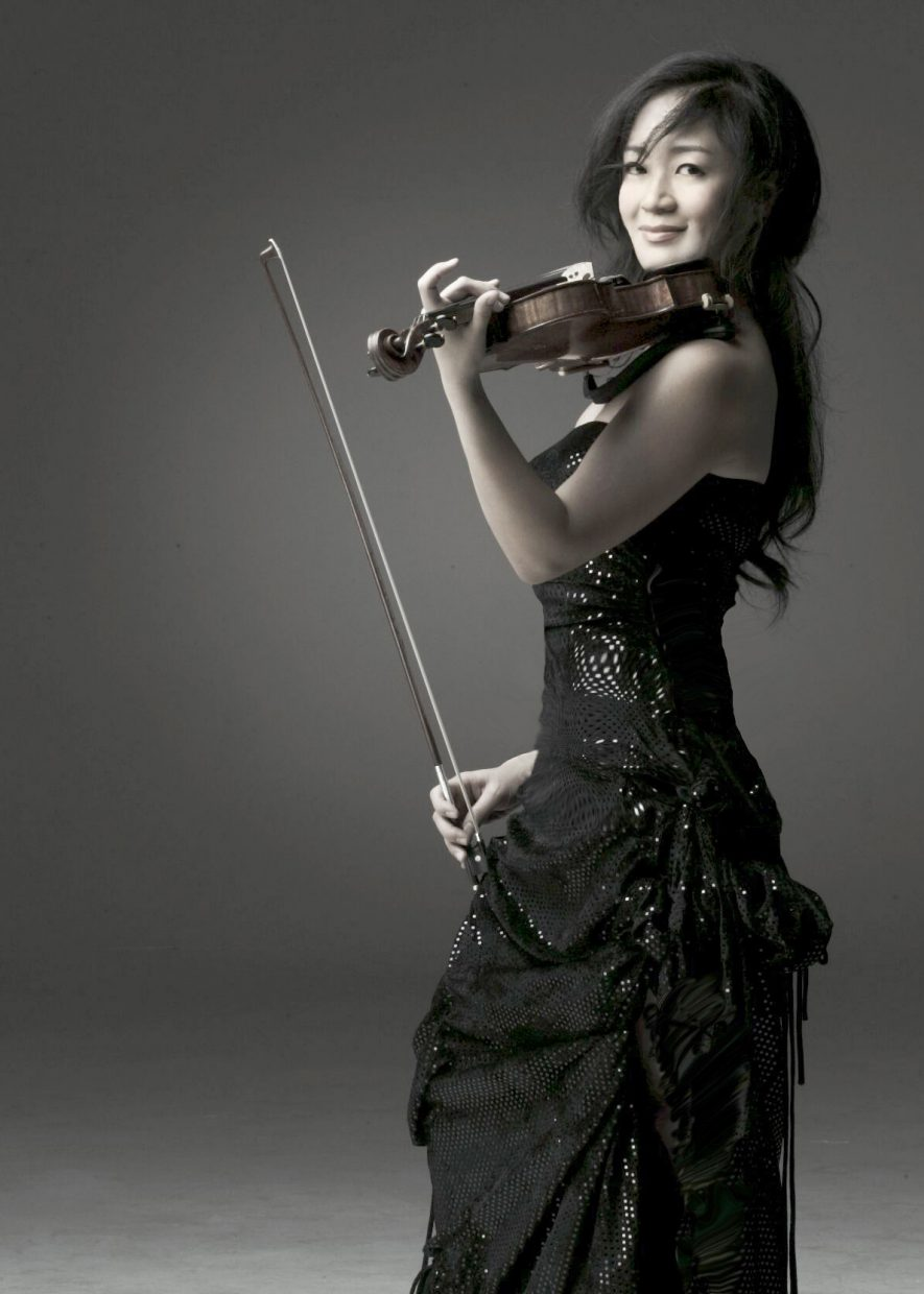 Internationally renowned violinist Chee-Yun performs Mendelssohn's Violin Concerto June 25 during the opening night orchestral performance at Strings Music Festival.