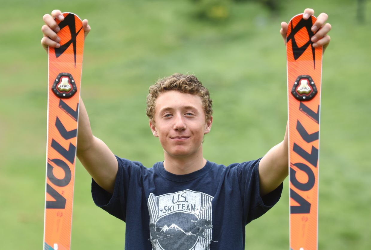 Steamboat Springs Winter Sports Club skier Cole Puckett was selected as the Spencer Nelson Colorado All-Star Athlete of the Year by Colorado Ski Country USA.