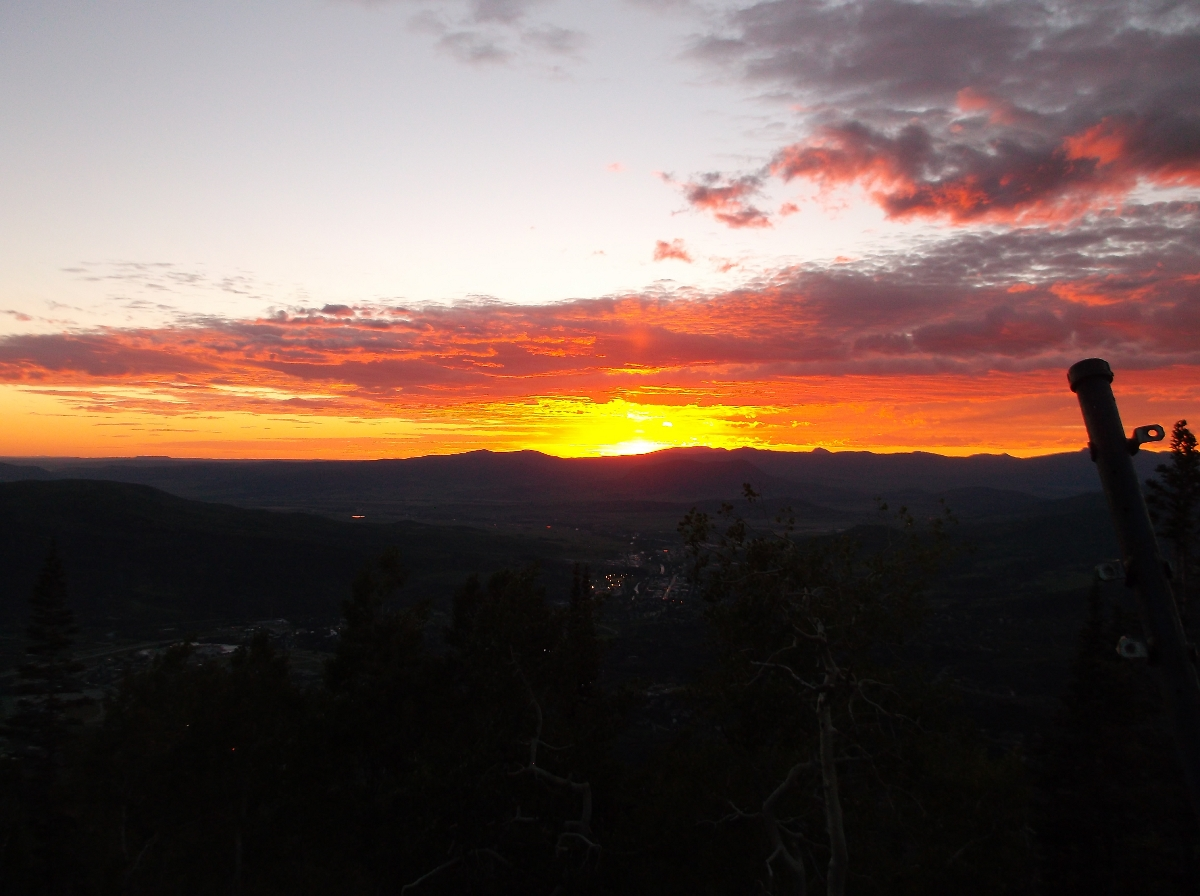 Sunset Saturday. Submitted by: Rhys Jones