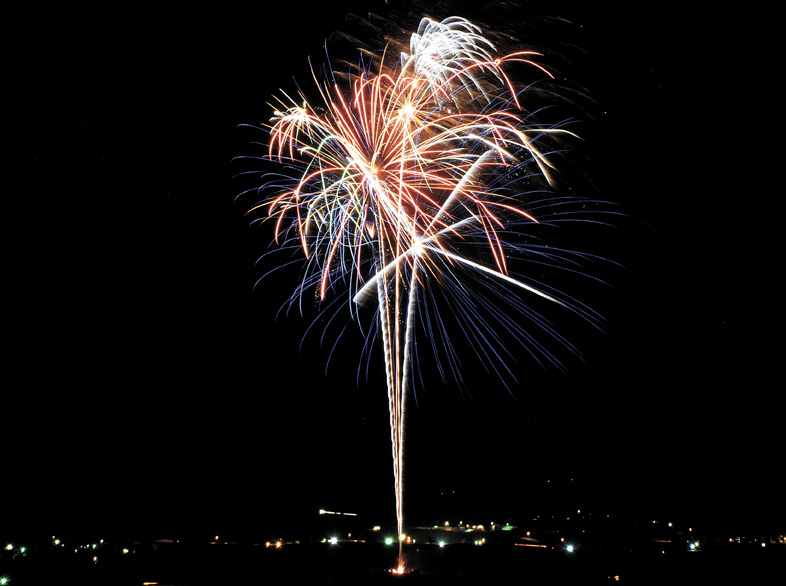 Fireworks are a go for Friday's Fourth of July celebration in Craig.