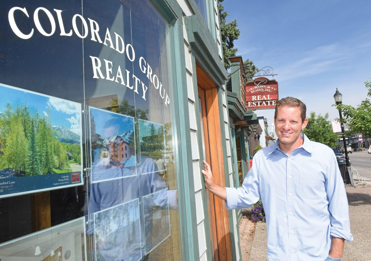 Steve Goldman was recently named chief executive officer of Colorado Group Reality in Steamboat Springs.