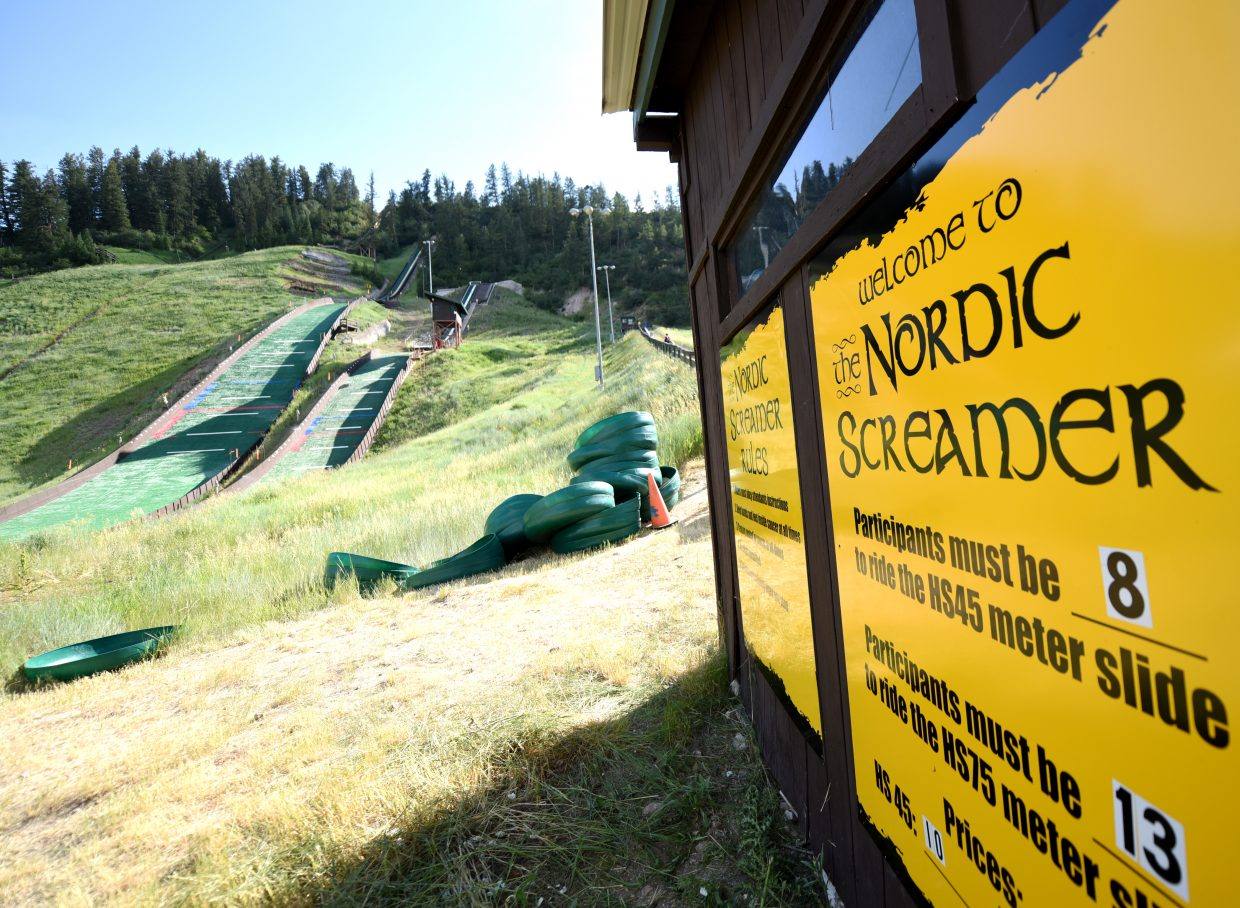 The Nordic Screamer opens Sunday and riders are $20 and $10, depending on the hill size.