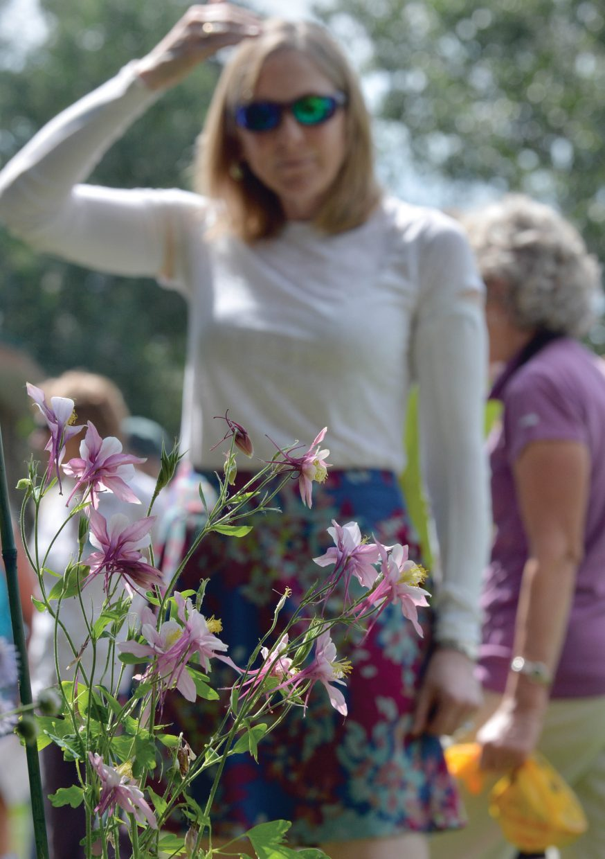 Organizers and volunteers got a sneak peak at this year's Strings Music Festival Garden and Kitchen Tour earlier this week. The tour will take place Saturday and includes eight stops in the Steamboat Springs area.