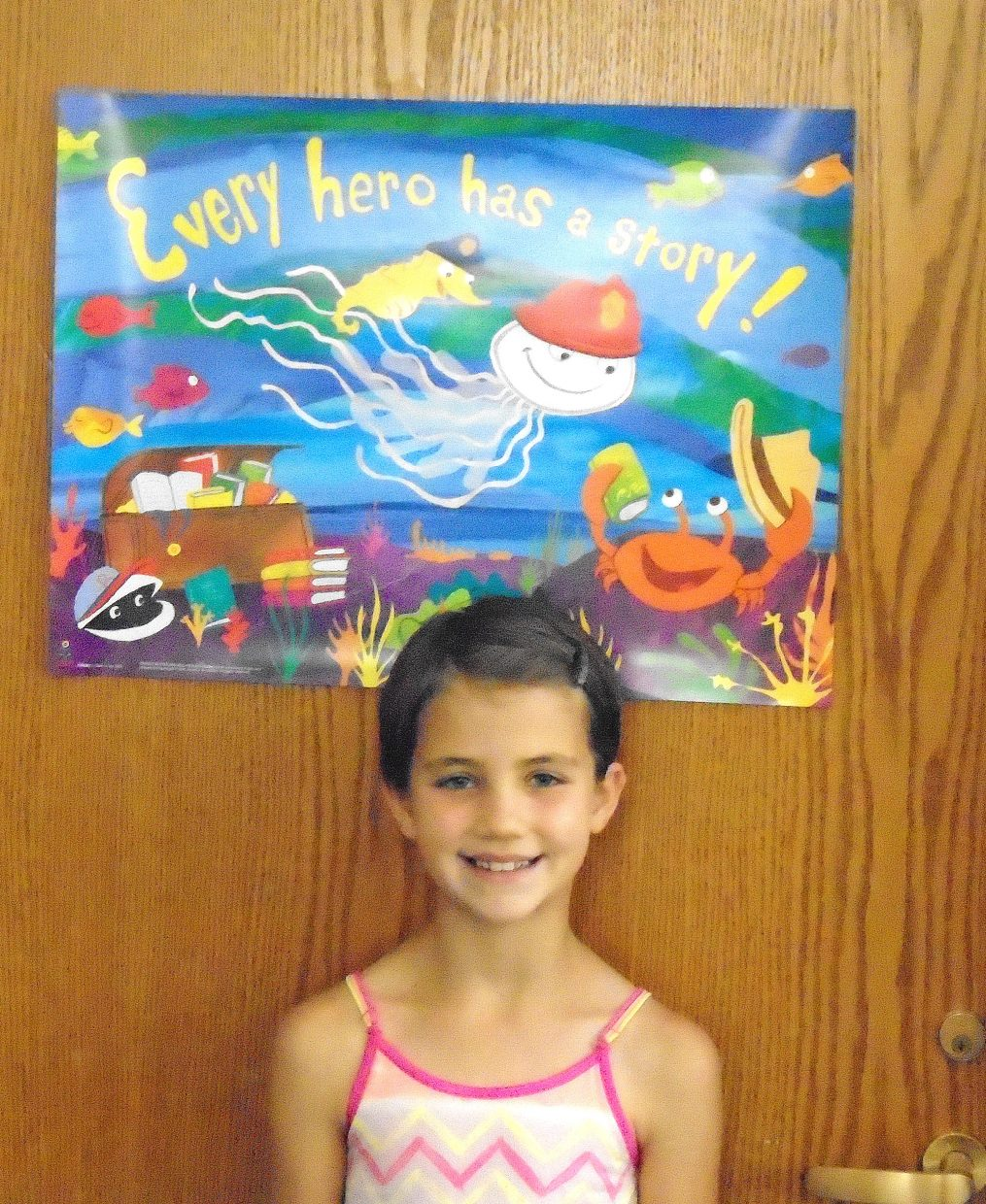 Isabelle Mathey is this week's Reader of the Week.