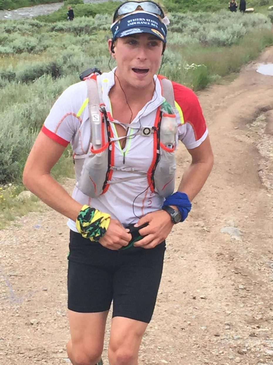 Steamboat Springs ultramarathon runner Avery Collins runs earlier this week in the Colorado 200, a massive trail running race in the mountains near Gunnison and Crested Butte. He won the race after running nearly 66 hours.