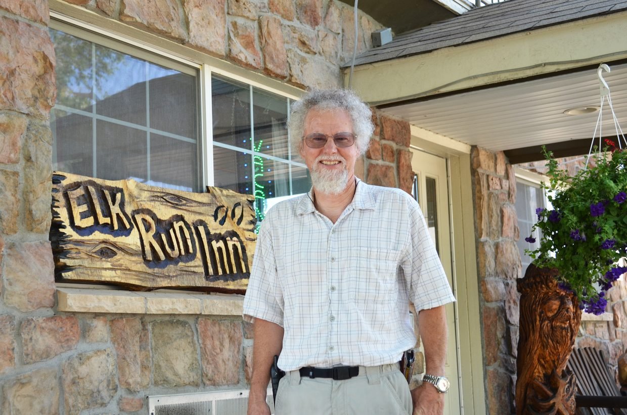 Elk Run Inn owner Randy Looper says the first quarter was bad for business, but his second quarter was great.