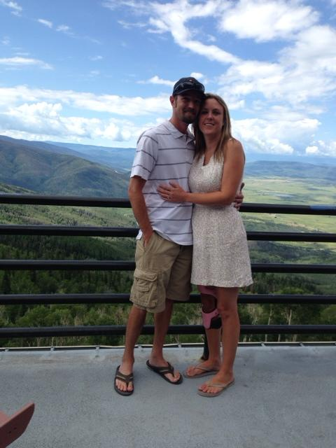 Sarah Anderson and Jeff Pearson