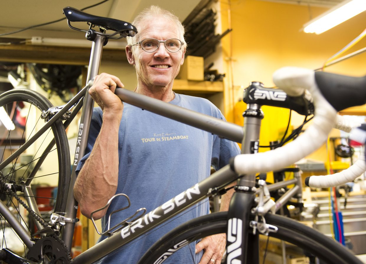 Kent Eriksen has been a mountain biking innovator since the sport's early days, has started two successful bike companies in Steamboat Springs and is still brimming with big ideas.