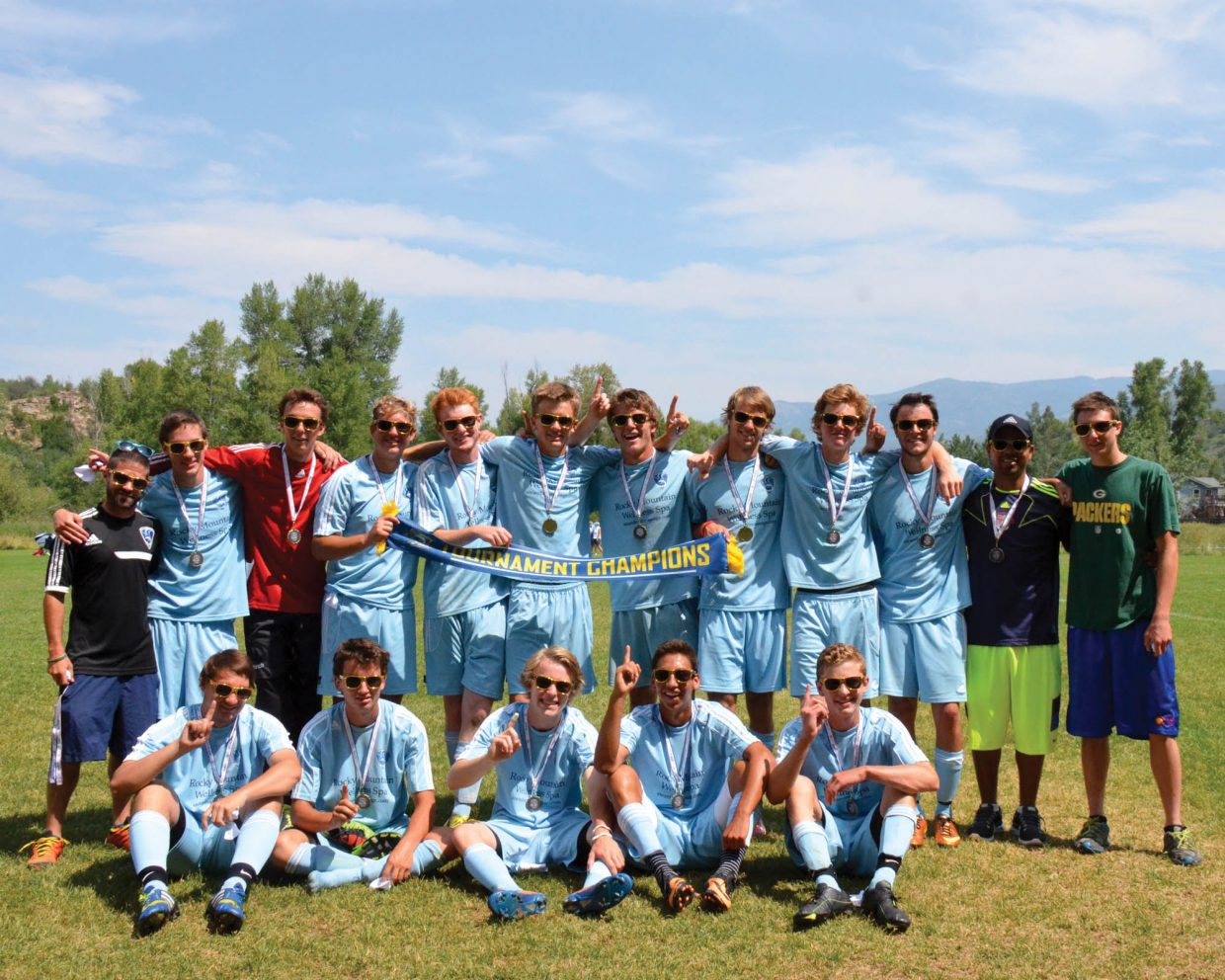 The Steamboat Springs U19 boys team captured a title at last weekend's Steamboat Springs Mountain Soccer Tournament.