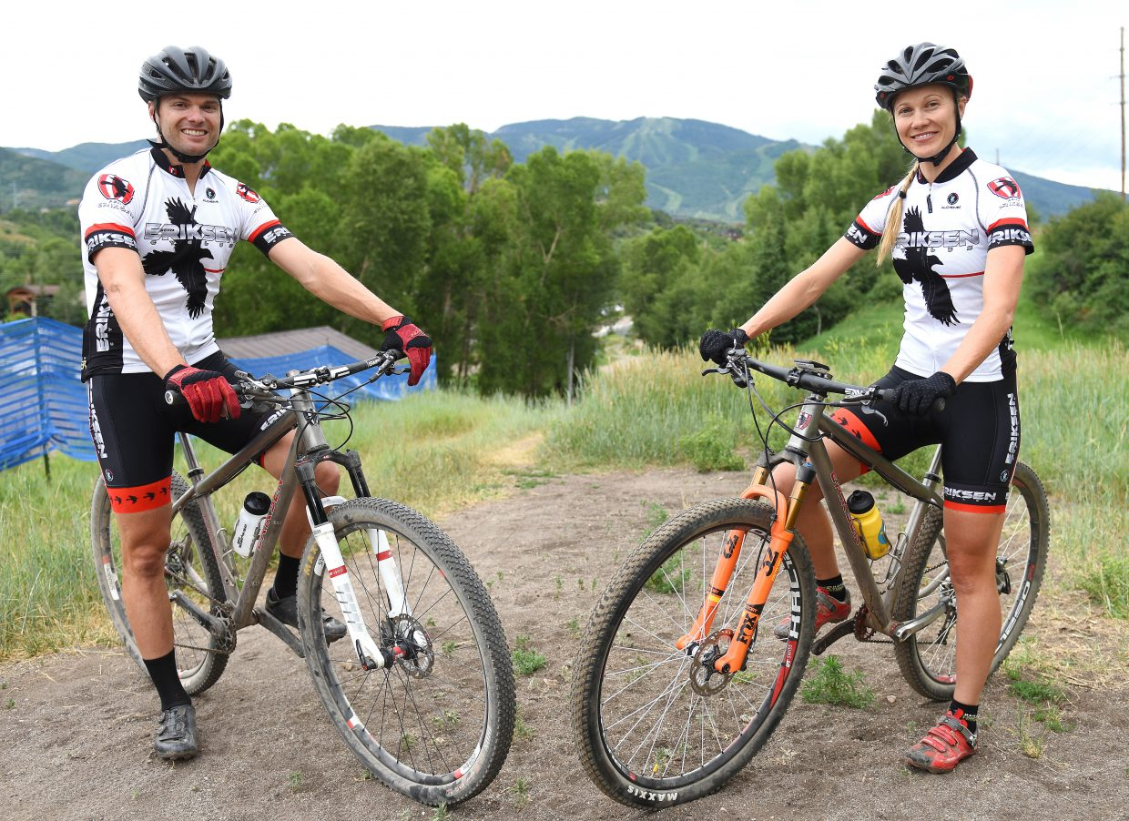 Brad Bingham was 15th, and Hannah Williams was 10th in the 2016 USA Cycling Mountain Bike Nationals cross-country race at Mammoth Mountain, California.