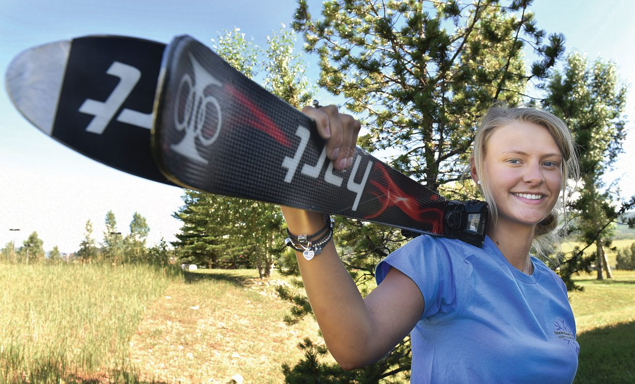 Kate Blamey has been hired by the Steamboat Springs Winter Sports Club's High Performance moguls coach.