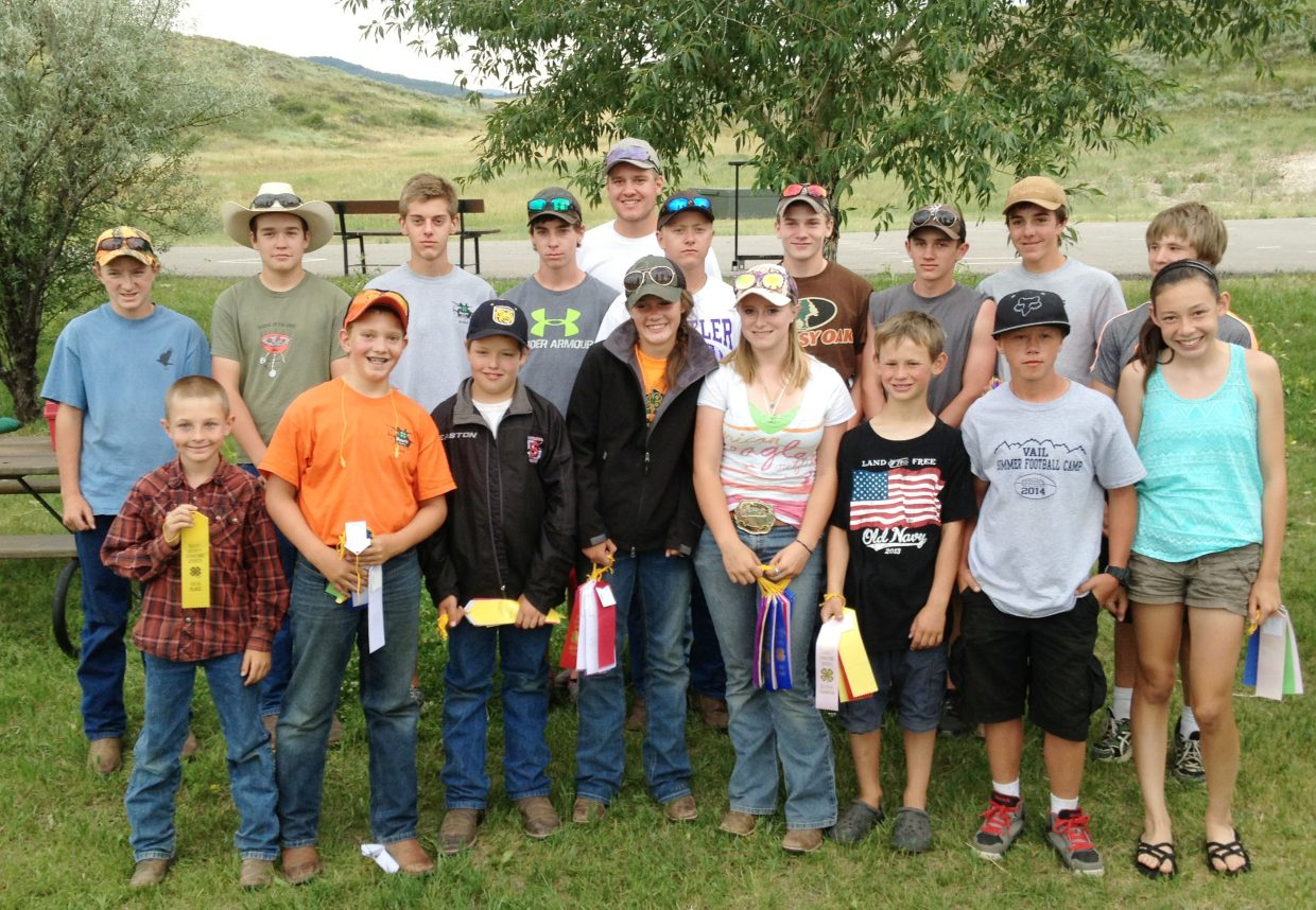 The 4-H shooting team held its local championships Sunday and selected the shooters who will be bound for state, competing in compound and traditional bow, shotgun, .22 rifle, air pistol and air rifle.