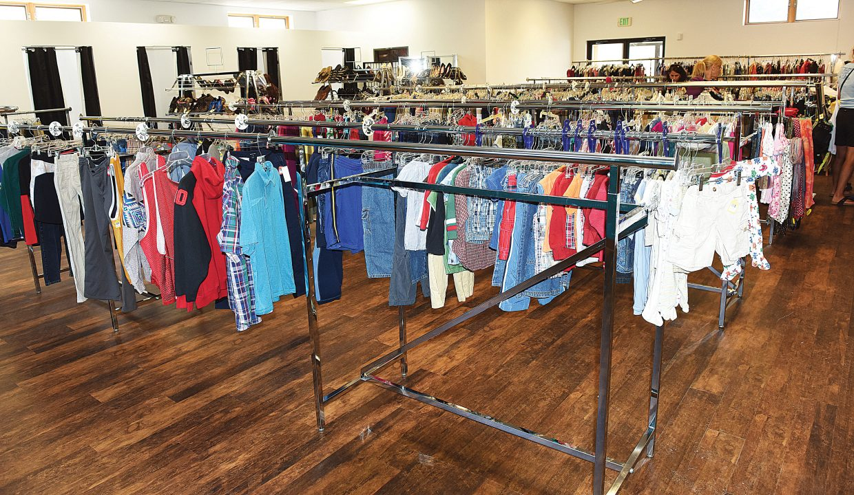 The new LiftUp of Routt County Thrift Store has plenty of floor space. The recently renovated store opened its new space Tuesday as volunteers were still in the process of putting items back on the floor. The store generated more than $200,000 last year that LiftUp used to provide food and other services to those in need in Routt County.