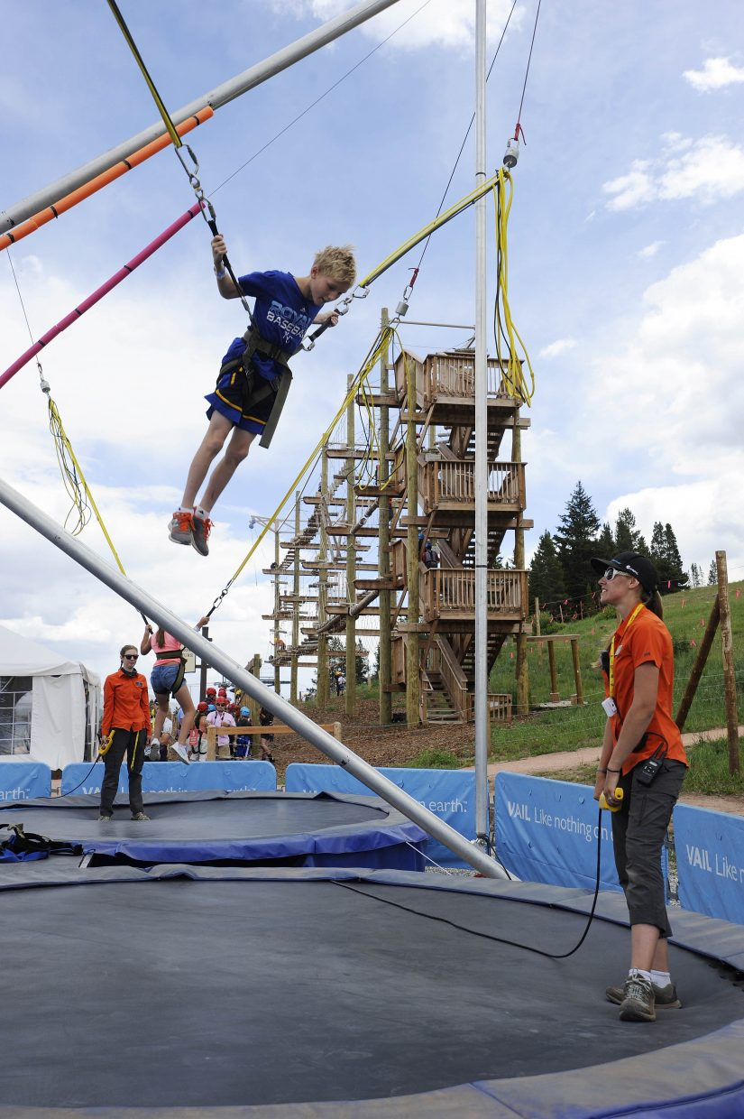 Vail's Epic Discovery has attractions for both younger and older children as well as adults.