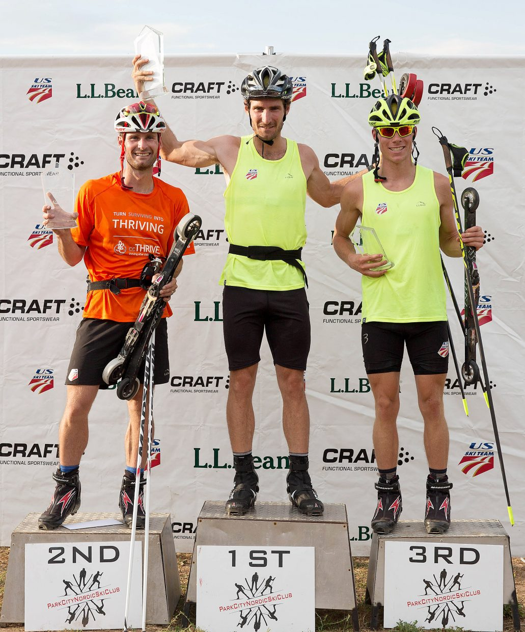 Taylor Fletcher won his first U.S. Nordic Combined national championship on Saturday. Bryan Fletcher was second and Ben Berend, earning his first nationals podium, was third.