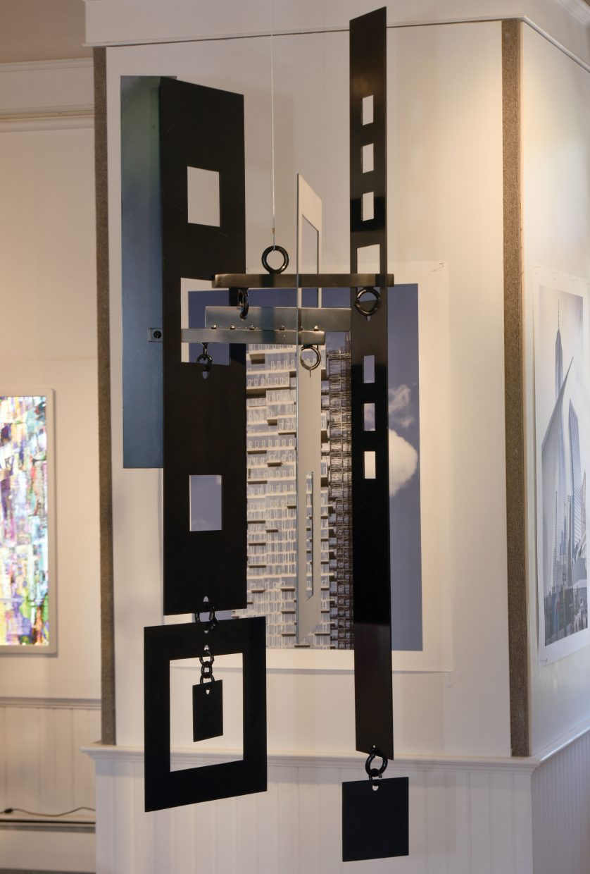 A new art show at the Depot Arts Center will feature three top artists, including urban images from Frederick Hodder and installations by Robert Delaney. The Platform Gallery will feature the work of Jody Elston.