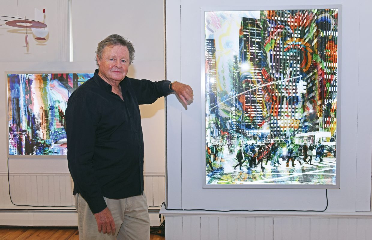 Fred Hodder will be one of the artist featured at a new show opening Friday at the Depot Arts Center.