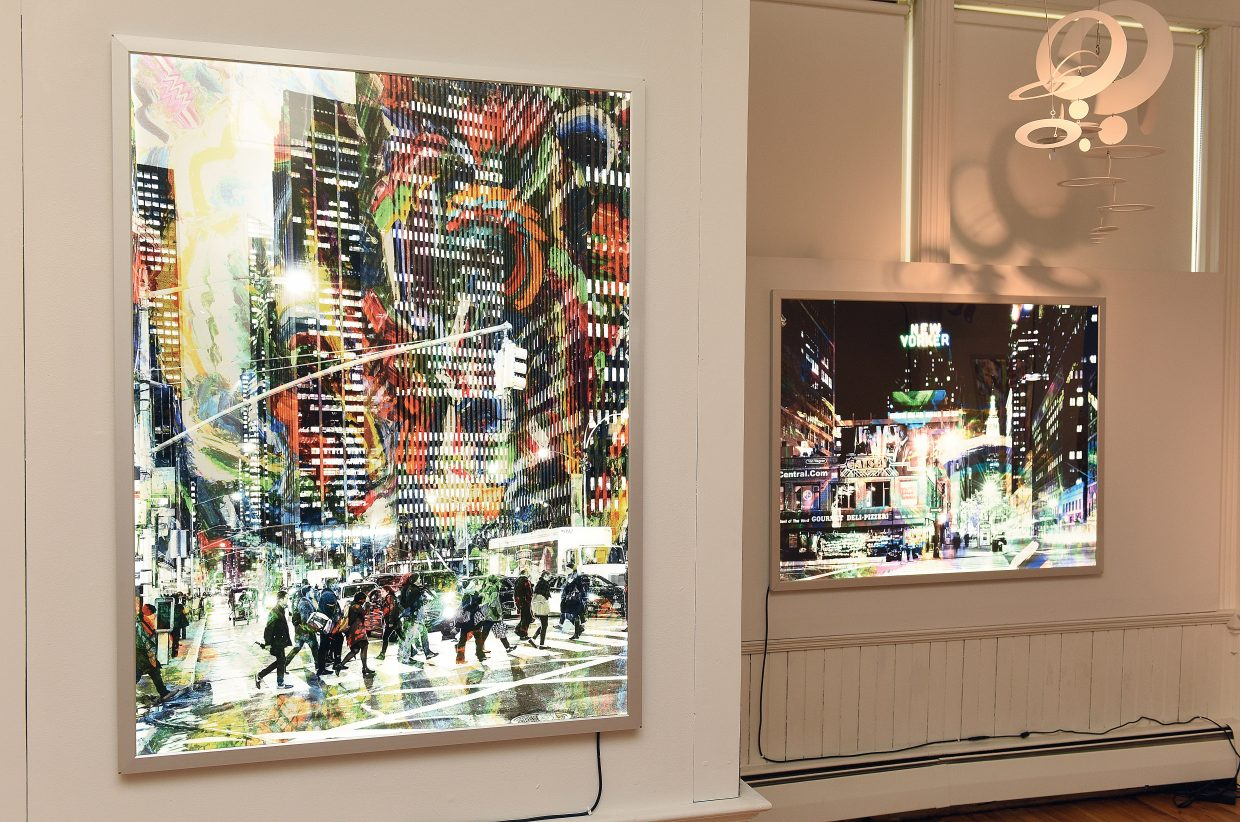 A new art show at the Depot Arts Center will feature three top artists including urban images from Fred Hodder and installations by Robert Delaney. The Platform Gallery will feature the work of Jody Elston.
