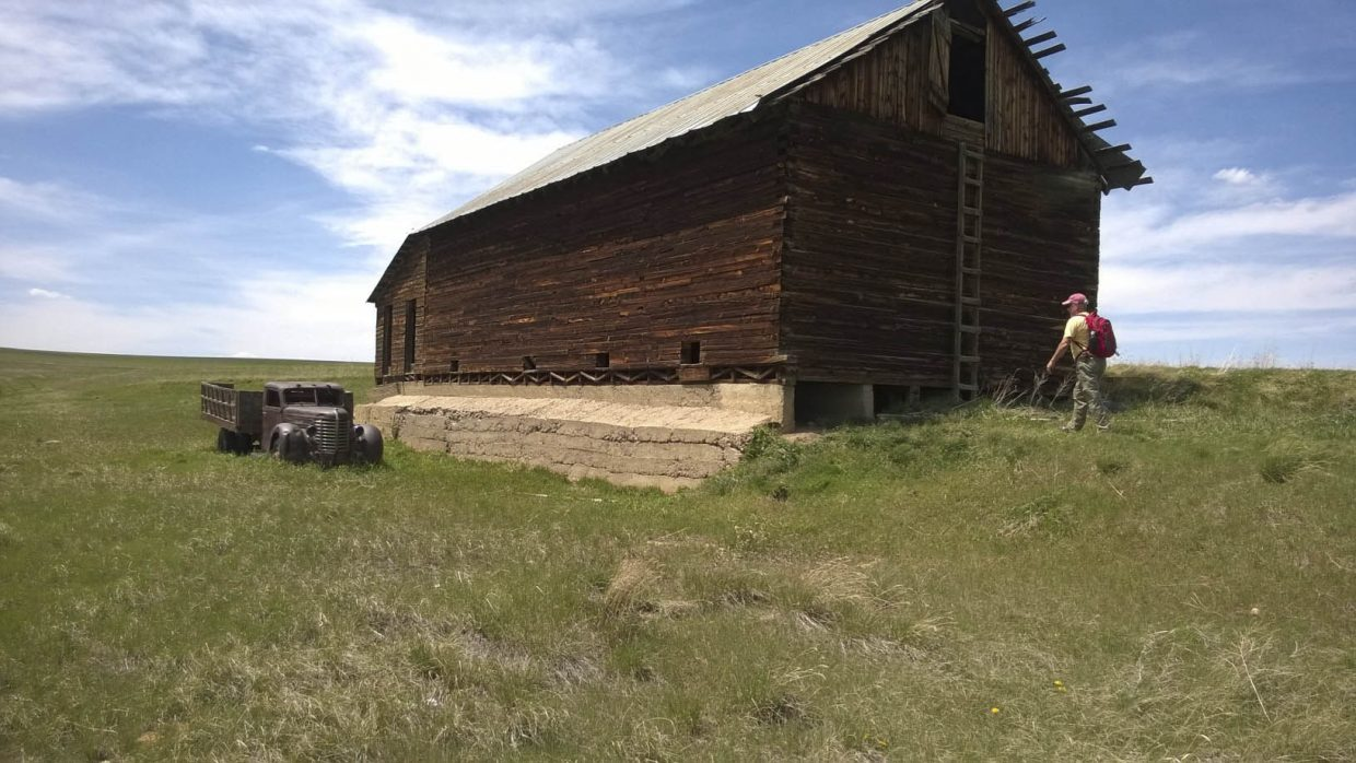 A barn in Hayden has been deconstructed and will be rebuilt and used by the Hayden Heritage Center.