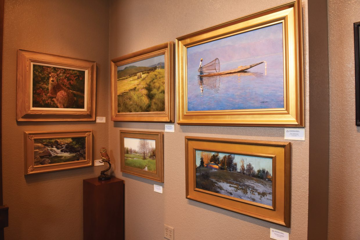 The Oil Painters of America exhibition will be available for viewing from 5 to 8 p.m. Friday at the Wild Horse Gallery during the First Friday Artwalk. This is the Oil Painters of America's western regional show, which is comprised of the national organization's members, signature members and master members west of the Mississippi. This juried show features 150 painters who are selected from thousands of entries.Oil Painters of America is a not-for-profit organization representing more than 4,000 artists throughout the United States, Canada and Mexico, and it arrived in town on Wednesday.