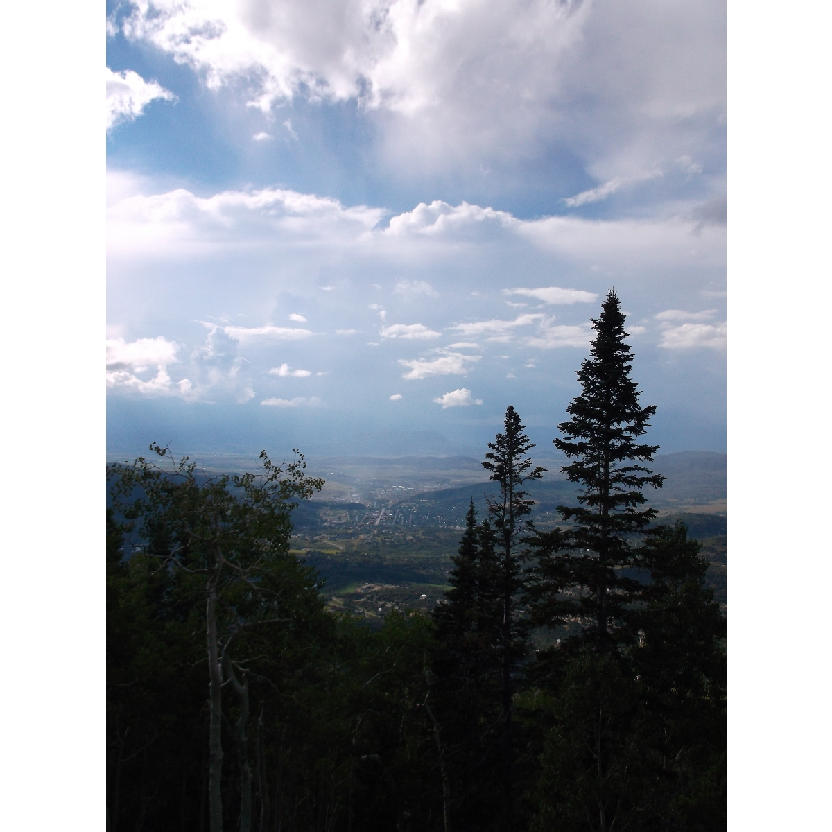 Looking west from Thunderhead. Submitted by Rhys Jones.