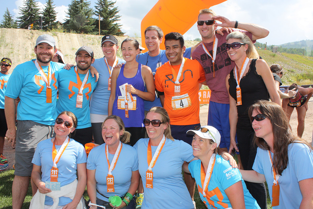 "About two dozen runners from Colorado Mountain College's various campuses took part in a 194-mile-long relay between Copper Mountain and Snowmass. The Ragnar Relay Colorado served as a fundraiser for Special Olympics Colorado, and the CMC team included employees, family members and students. The team, CMC RagNerd, including, back row from left, Evan Weatherbie (Edwards), Carlos ""Charlie"" Estrada (Glenwood Springs), Lourra Barthuly (Eagle), Alisa Harnden (Steamboat Springs), Chris Harnden (Steamboat Springs), Tony Mendez (Basalt), Todd Schuster (Denver), Amy Blakey (Edwards); and, front row from left, Stephanie Beste (Dillon), Nicole Fazande (Dillon), Jen Cantway (Glenwood Springs), Stacy Yarnell (Eagle) and Amanda Ingle (Rifle). Not pictured are team drivers Wendy Boomhower (Eagle), Kim Arnold (New Castle), Kirsten Gauthier-Newbury (Glenwood Springs) and team volunteers Debbie Novak and Deb Cutter."