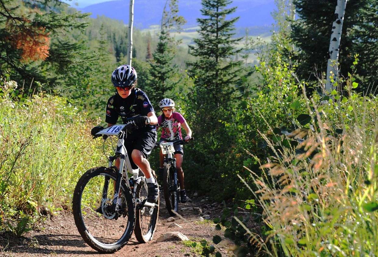 Wednesday's Town Challenge mountain bike series finale drew a big crowd for a challenging race at Steamboat Ski Area.